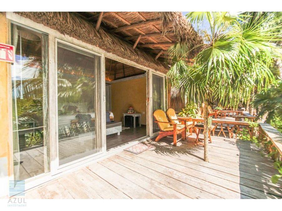 hotel en venta en tulum beach front
