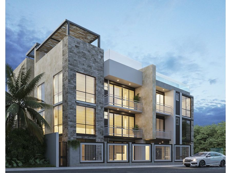 exclusivo departamento en venta region 15 tulum