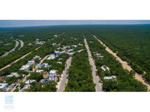 terrenos en venta en la region 15 de tulum