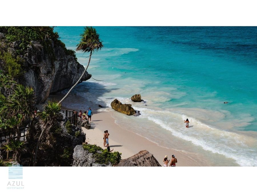 hotel with beach club and restaurant for sale in tulum
