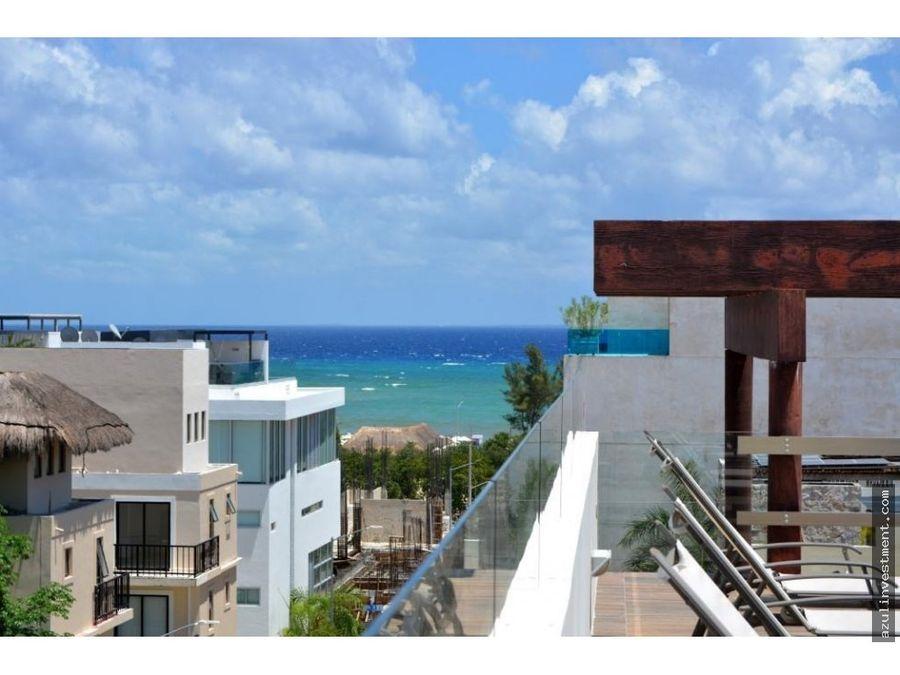 se vende paquete de 7 apartamentos en playa del carmen