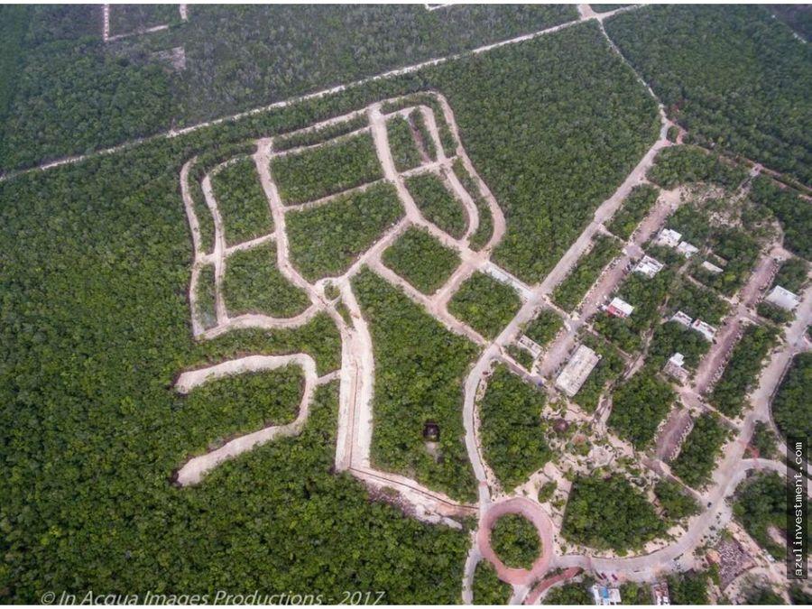 terrenos en venta en aldea zama tulum