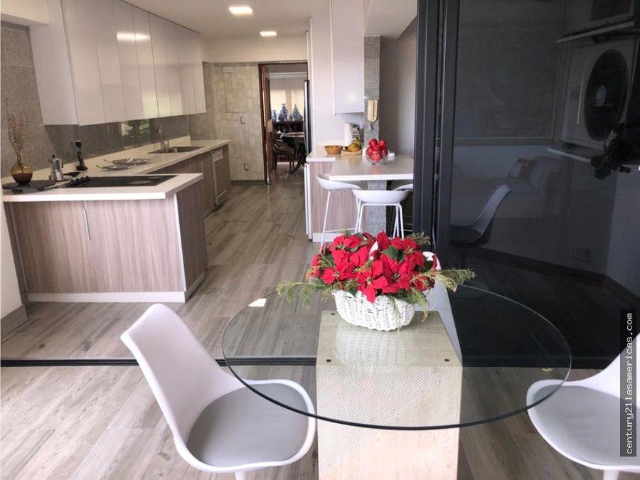 en venta apartamento de 220 mt en valle arriba