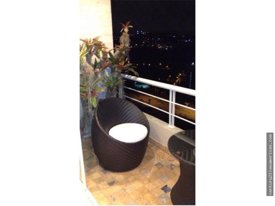 venta de espectacular apartamento en escampadero de 117 m2