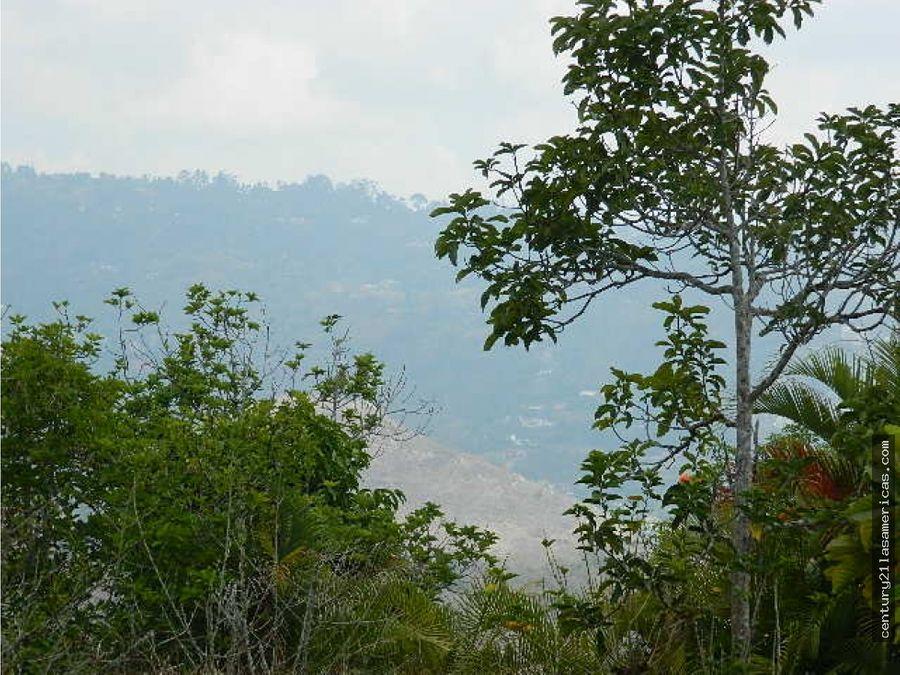 terreno y casa rural en hacienda la mata municipio el hatillo