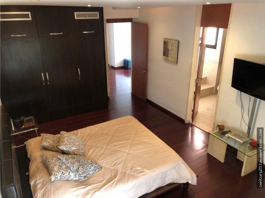 en venta apartamento de 233 mt en san marino campo alegre