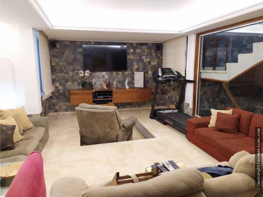 casa remodelada prados del este 550m2 4hs 7s 6e