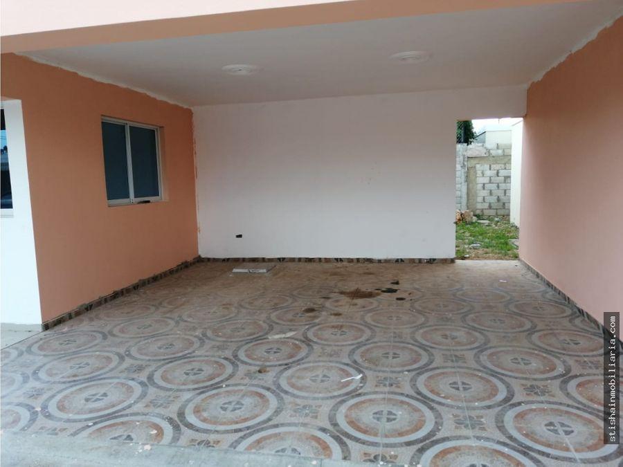 casa de 1 nivel en el residencial amalia