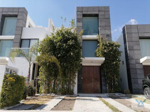 casa en venta con roof garden en juriquilla queretaro