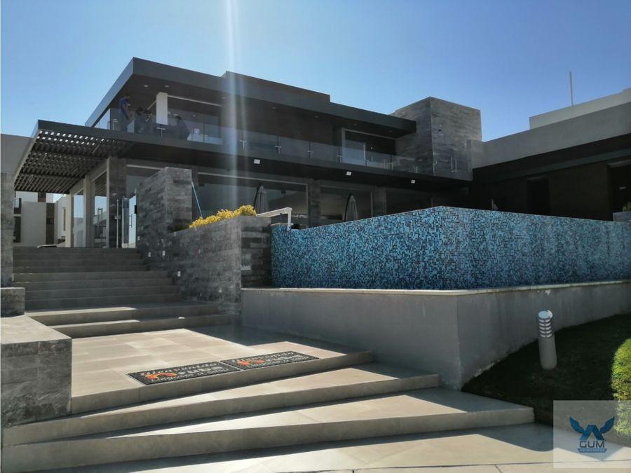 casa en venta con roof garden en zibata el marques queretaro
