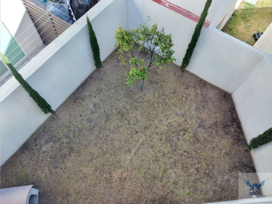 casa en venta con roof garden en zibata el marques queretaro gaa