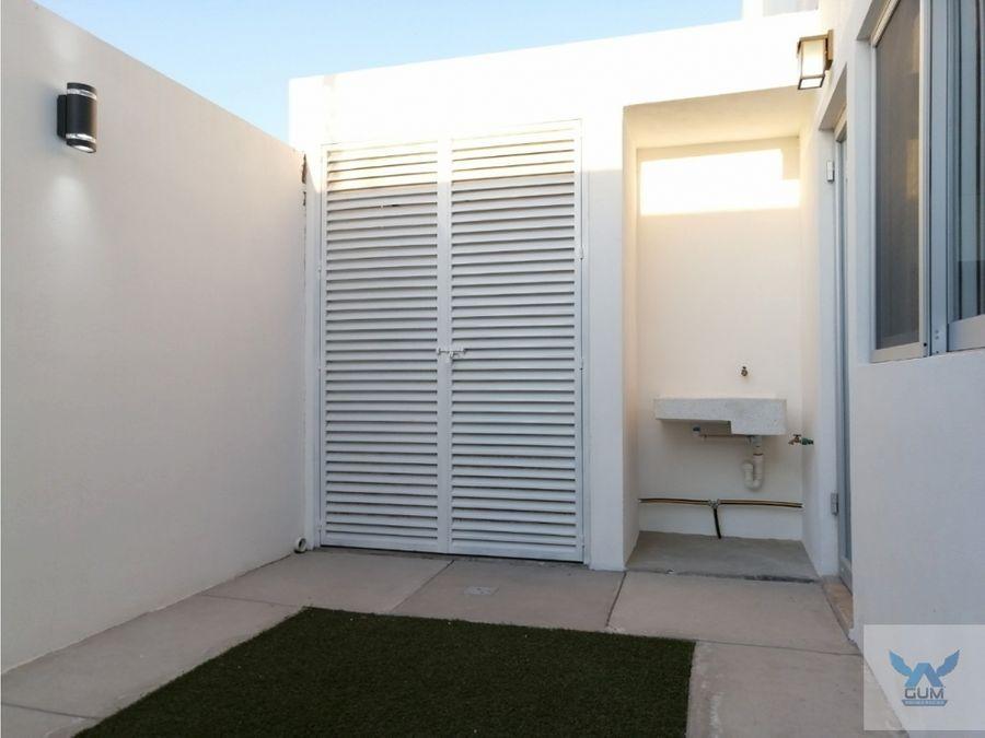 casa en venta con roof garden en zakia el marques queretaro gcm