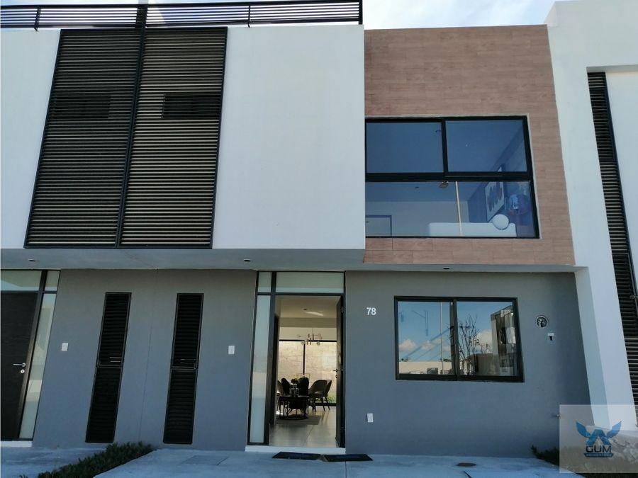 casa en venta en zakia el marques queretaro