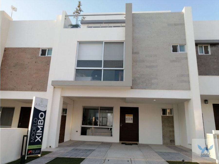 casa en venta zakia el marques queretaro gcm