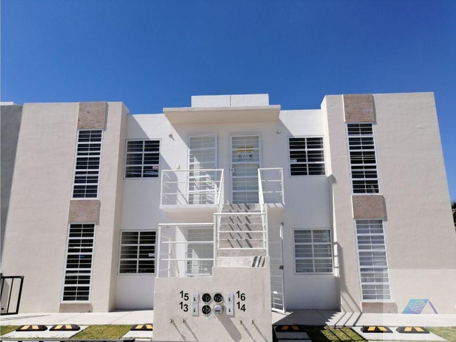 departamento planta alta en venta en montealban queretaro gaa