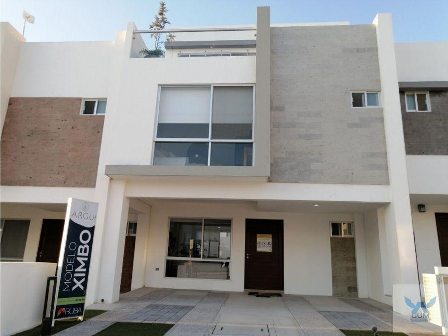 casa en venta zakia el marques queretaro crj