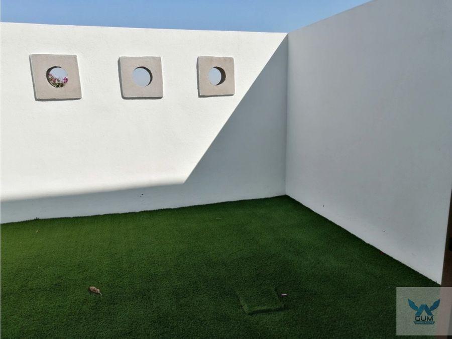 casa en venta zibata con roof garden grj