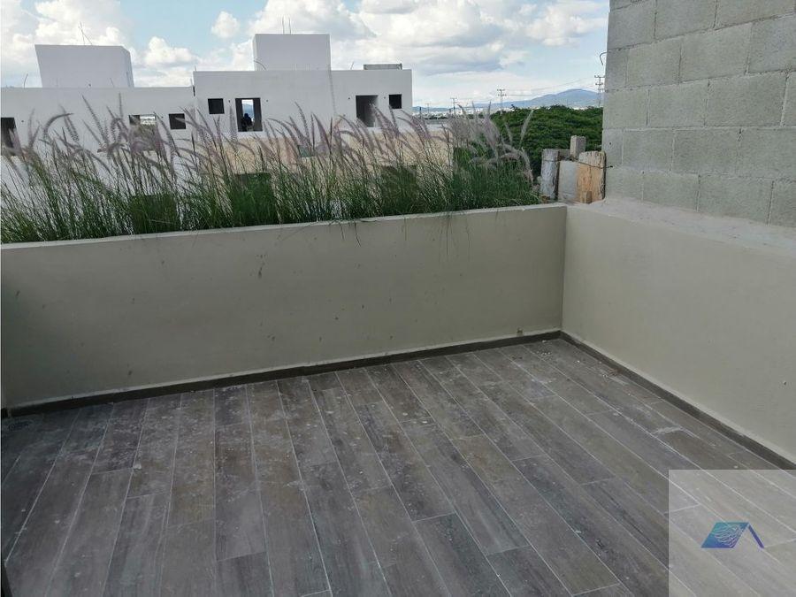 casa en venta con roof garden en ciudad del sol queretaro gaa