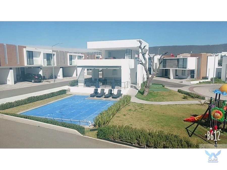 casa en venta en el refugio el marques queretaro gaa