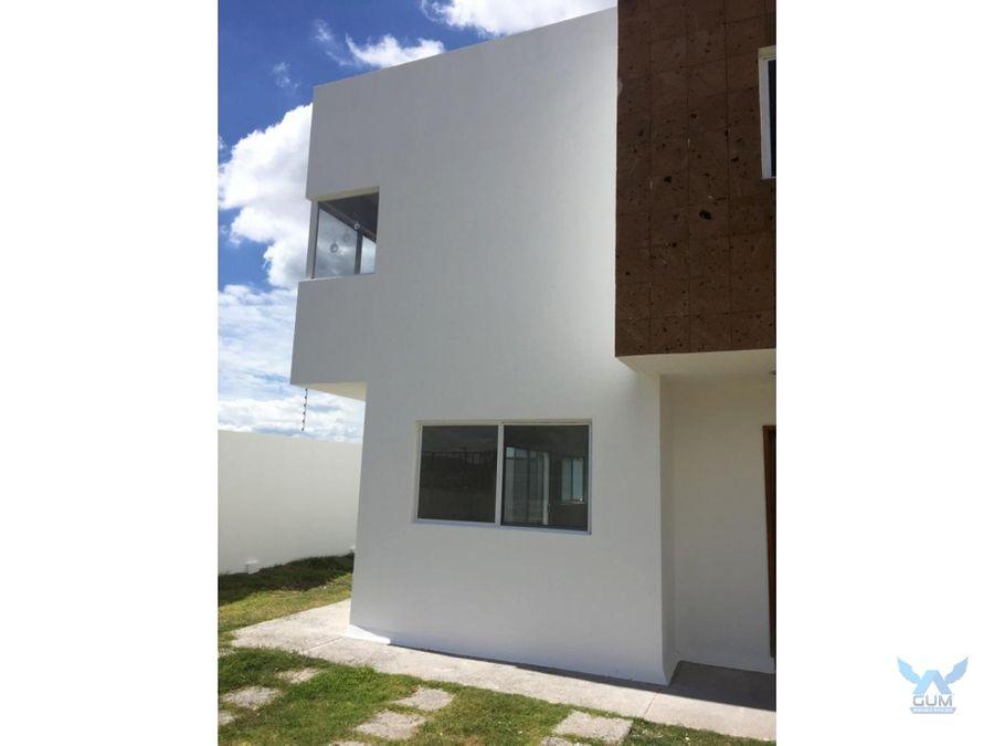 casa en venta o renta en real de juriquilla queretaro gaa