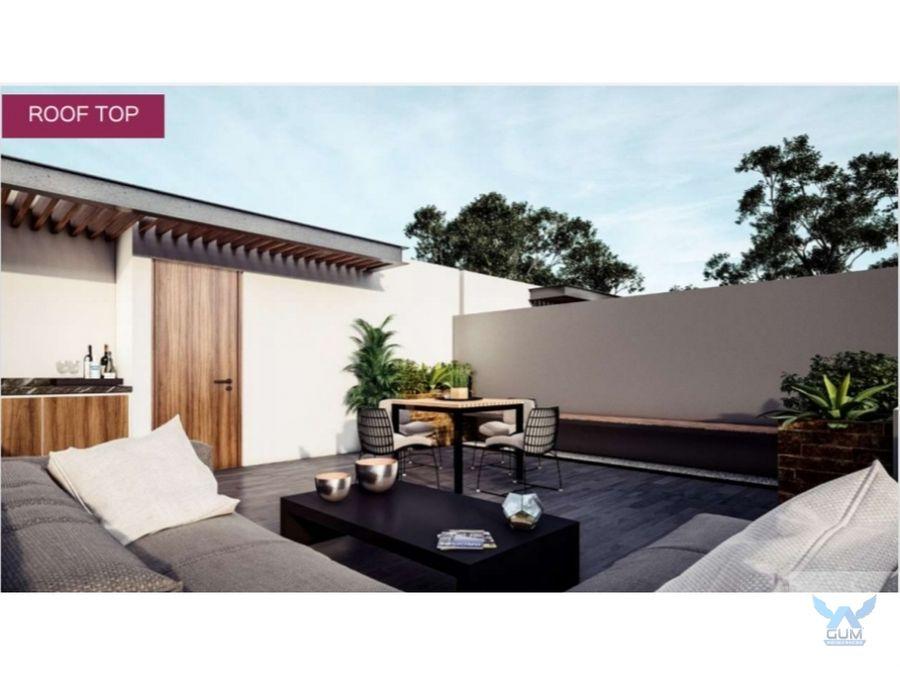 departamento loft con roof en preventa en zakia el marques queretaro