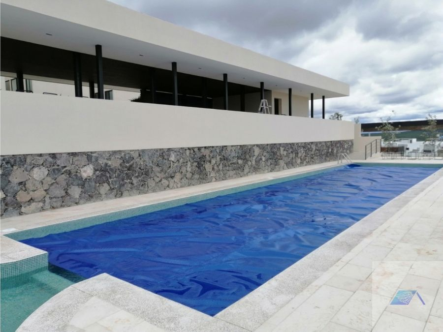 casa en venta con roof garden en zibata el marques queretaro gtc