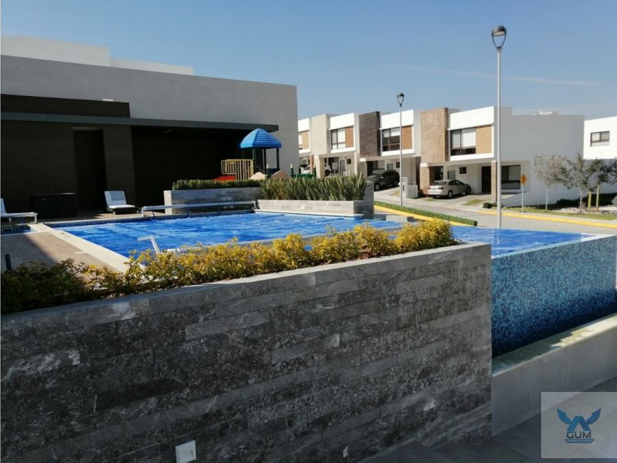 casa en venta en zibata con roof garden el marques queretaro gcm