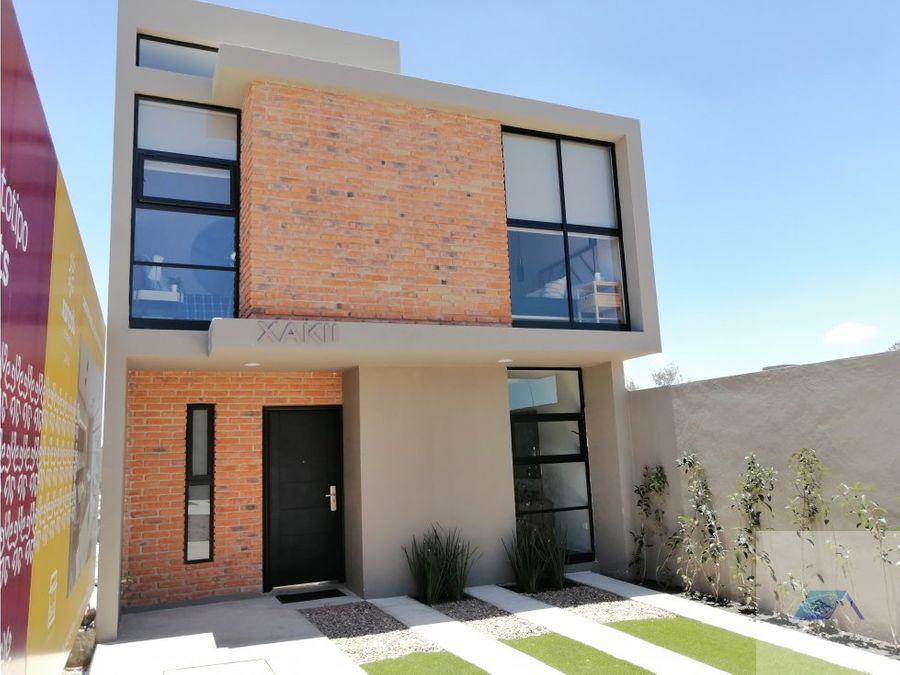 casa en venta en zakia el marques queretaro gvm