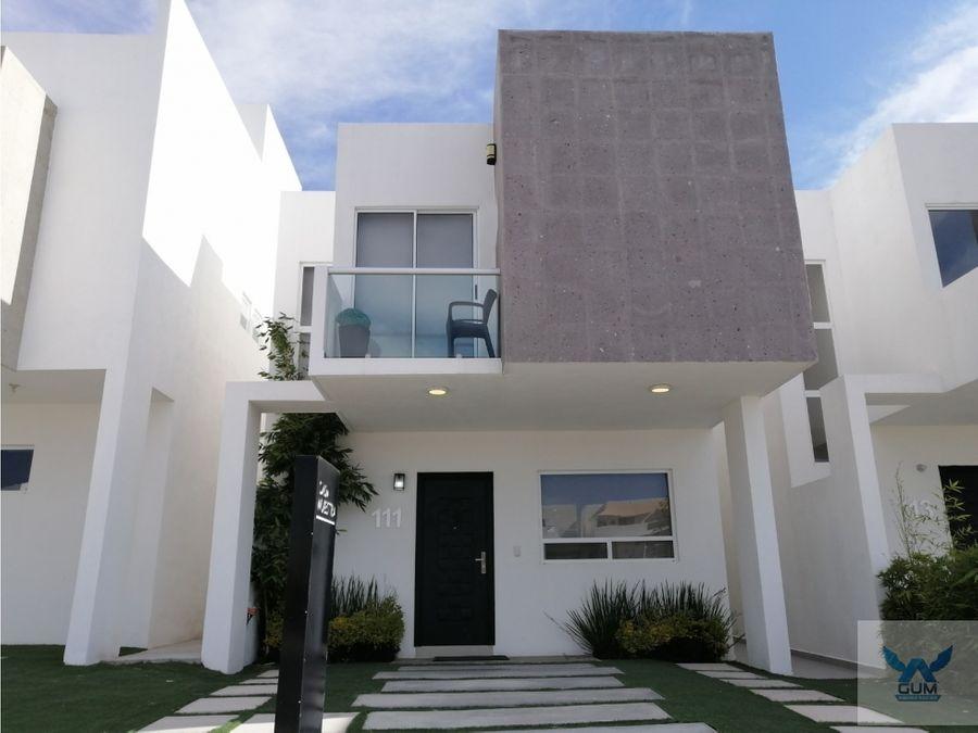 casa en venta cerca de el refugio el marques queretaro gaa