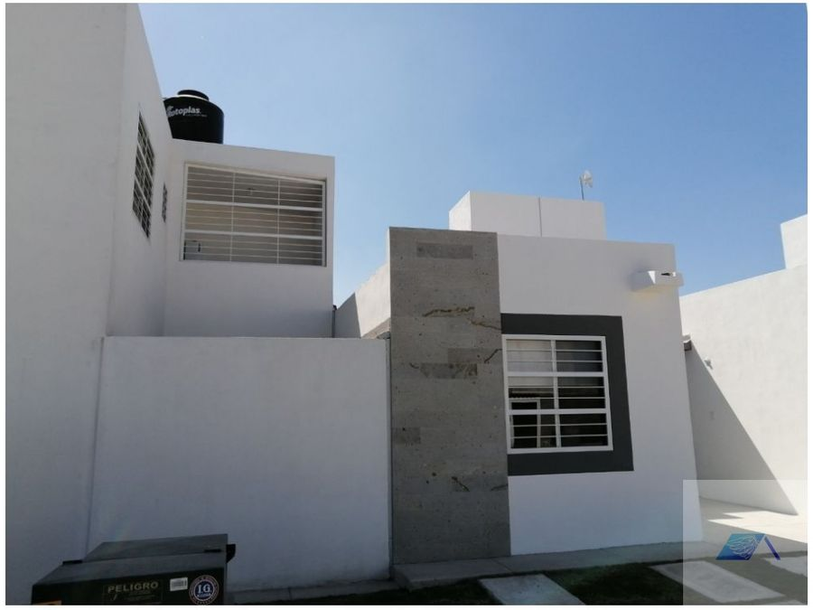 venta de casa en montealban queretaro gas