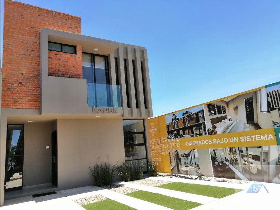 casa en venta en zakia el marques queretaro gmh