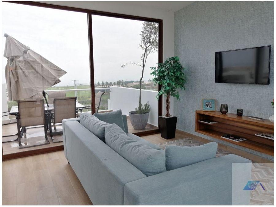 casa en venta con roof garden en zibata el marques queretaro gas