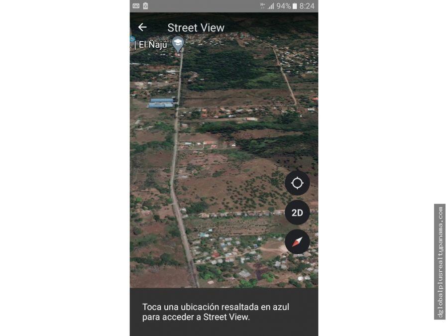 chilibri lote a 30 minutos de la ciudad de panama