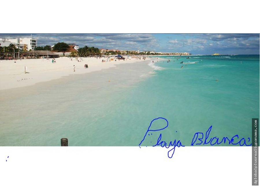 panama oceano pacifico playa club golf