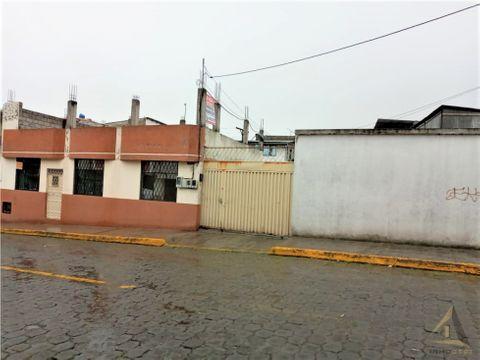 la ecuatoriana sur quito casa rentera 440m2 terreno