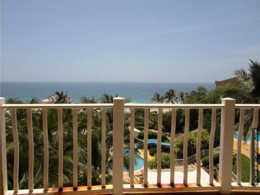 apartamento en venta en playa parguito margarita