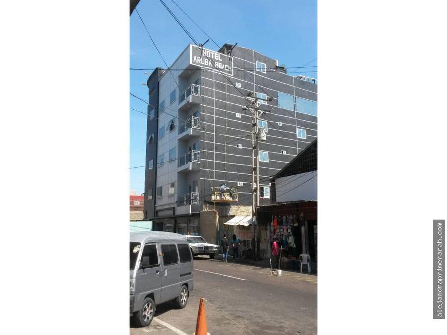 hotel en venta en centro de punto fijo