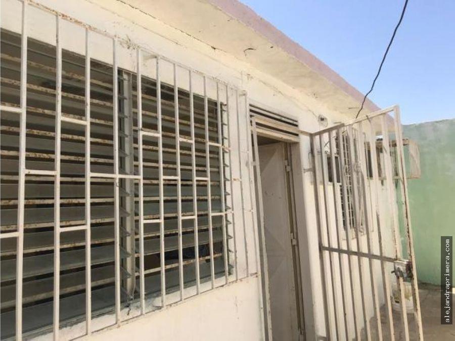casa en venta en antiguo aeropuerto punto fijo