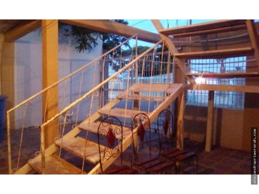 casa en venta en los taques paraguana