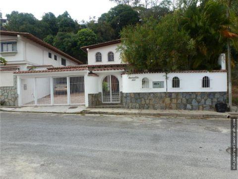casa en venta en santa paula caracas