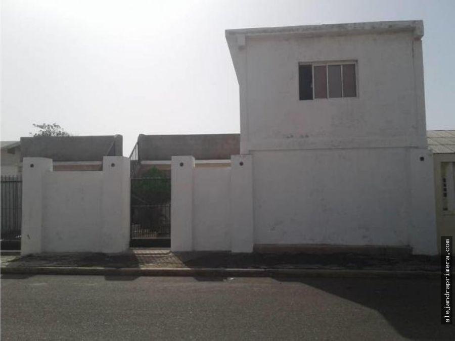 casa en venta en campo maraven punto fijo
