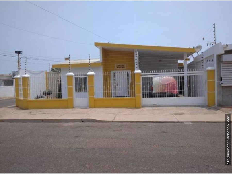 casa en venta en las lomas maracaibo