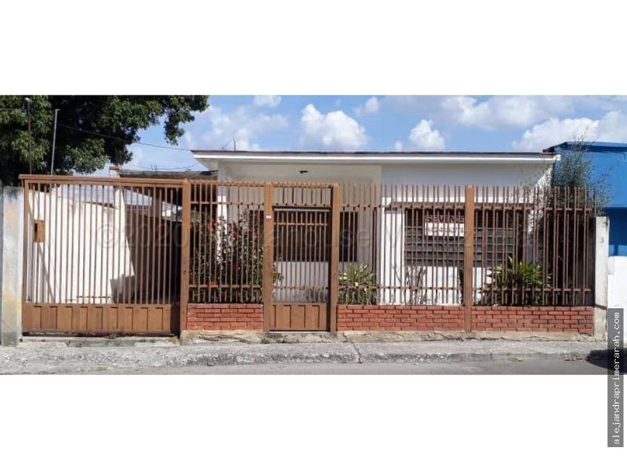 casa en venta en parroquia juan de villegas barquisimeto