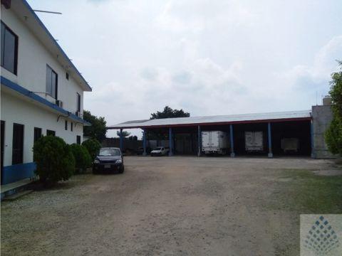 oficinas con patio de maniobras en venta villahermosa tabasco