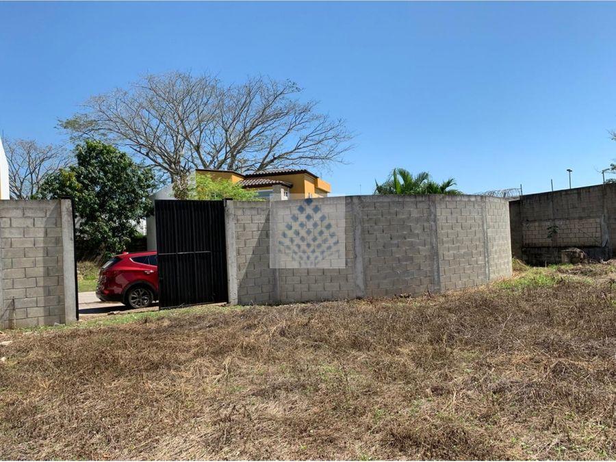 terreno en venta residencial country