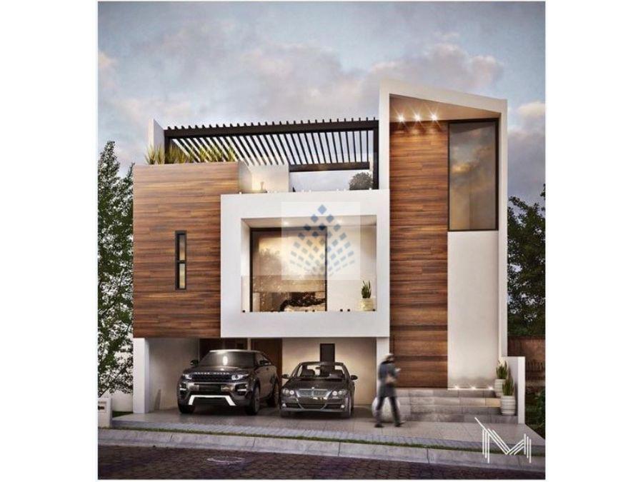 casa nueva en venta real campestre