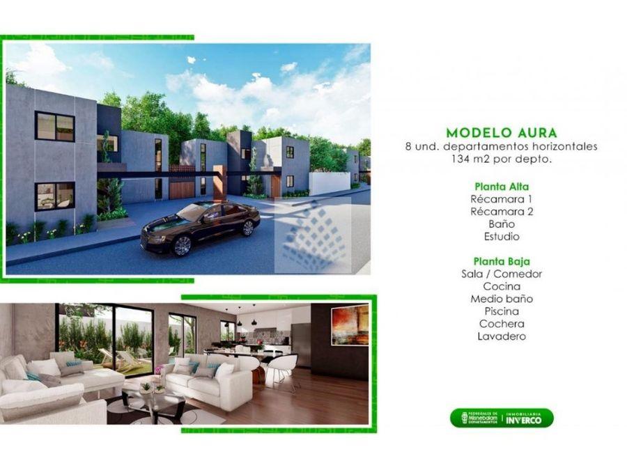 casas en pre venta en yucatan modelo aura