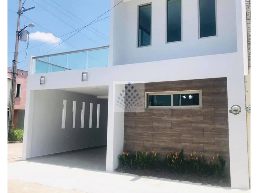 moderna casa en venta lomas de bellavista villahermosa tabasco
