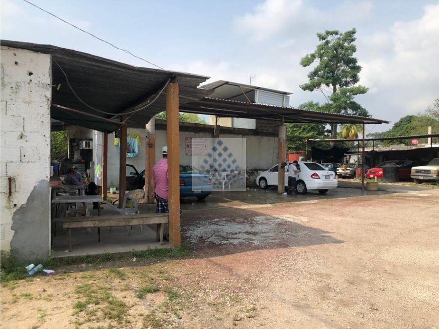 terreno en renta ideal para negocio macuspana tabasco zona centro