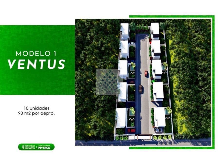 casas en pre venta en yucatan modelo ventus